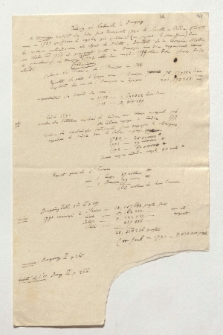 Auszug aus Laborde u[nd] Bourgoing (Manuskripttitel)