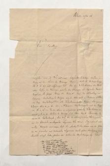 Brief von Julius Ludwig Ideler, Ernest Augustin Xavier Clerc de Landresse und Otto Wilmans an Alexander von Humboldt