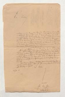 Brief von Julius Ludwig Ideler an Alexander von Humboldt
