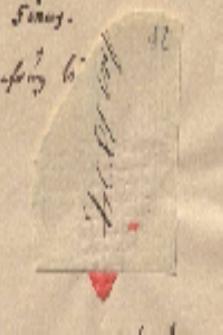 Brief von Friedrich Wilken an Alexander von Humboldt
