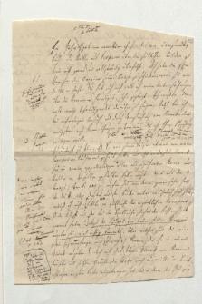 Brief von Ludwig Ideler an Alexander von Humboldt