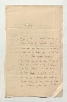 Brief von Leopold von Ranke an Alexander von Humboldt