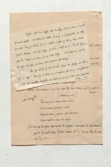 Brief von Charles Benoît Hase an Alexander von Humboldt