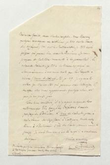 Brief von Antoine Jean Letronne an Alexander von Humboldt