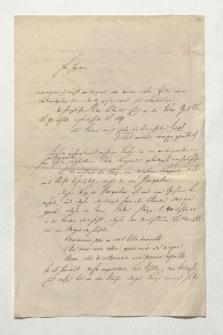 Brief von Karl Streckfuß an Alexander von Humboldt