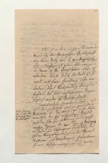 Brief von Carl Ritter an Alexander von Humboldt