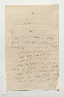 Brief von Franz Bopp an Alexander von Humboldt