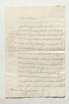 Brief von Francisco José Maria Brito an Alexander von Humboldt