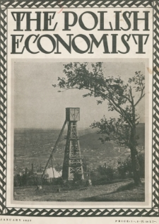 The Polish Economist : a monthly review of trade, industry and economics in Poland. 1927, nr1