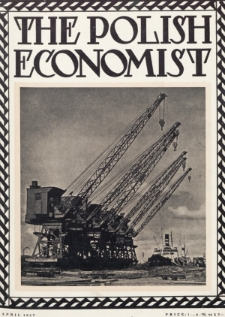 The Polish Economist : a monthly review of trade, industry and economics in Poland. 1927, nr4