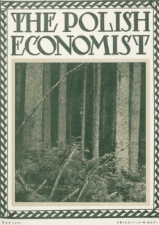 The Polish Economist : a monthly review of trade, industry and economics in Poland. 1927, nr5