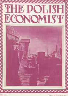 The Polish Economist : a monthly review of trade, industry and economics in Poland. 1927, nr6