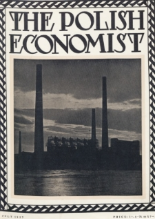 The Polish Economist : a monthly review of trade, industry and economics in Poland. 1927, nr7