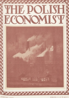 The Polish Economist : a monthly review of trade, industry and economics in Poland. 1927, nr8