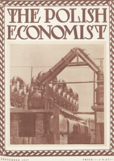 The Polish Economist : a monthly review of trade, industry and economics in Poland. 1927, nr9