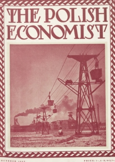 The Polish Economist : a monthly review of trade, industry and economics in Poland. 1927, nr10