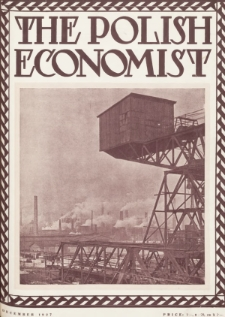 The Polish Economist : a monthly review of trade, industry and economics in Poland. 1927, nr12