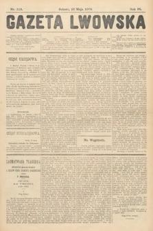 Gazeta Lwowska. 1908, nr113