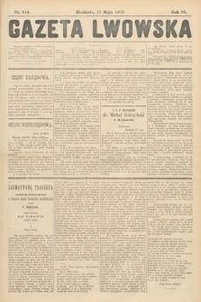 Gazeta Lwowska. 1908, nr114