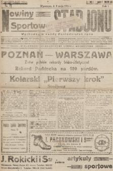 Nowiny Sportowe Stadjonu. 1924, nr11