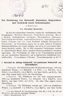 [Zeitschrift für Gärungsphysiologie, Allgemeine, Landwirtsschaftliche und Technische Mykologie. Bd.2, 1912, Heft2]
