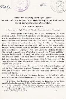 [Zeitschrift für Gärungsphysiologie, Allgemeine, Landwirtsschaftliche und Technische Mykologie. Bd.2, 1912, Heft3]