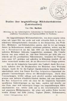 [Zeitschrift für Gärungsphysiologie, Allgemeine, Landwirtsschaftliche und Technische Mykologie. Bd.2, 1912, Heft4]