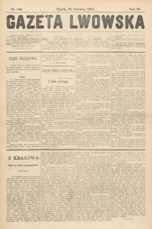 Gazeta Lwowska. 1908, nr145