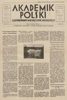 Akademik Polski : ilustrowany miesięcznik młodzieży. R.4, 1930, nr 7-8