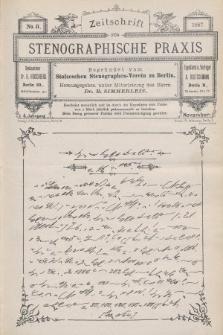 Zeitschrift für Stenographische Praxis. Jg 4, 1887, no.8