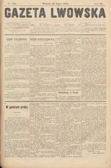 Gazeta Lwowska. 1908, nr171