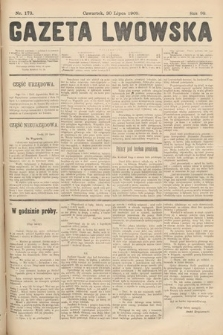 Gazeta Lwowska. 1908, nr173