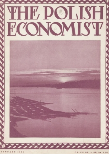 The Polish Economist : a monthly review of trade, industry and economics in Poland. 1931, nr1