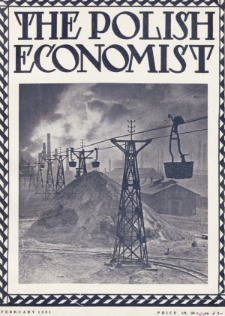 The Polish Economist : a monthly review of trade, industry and economics in Poland. 1931, nr2