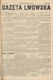 Gazeta Lwowska. 1908, nr177
