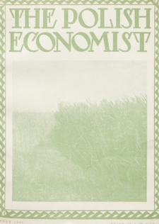 The Polish Economist : a monthly review of trade, industry and economics in Poland. 1931, nr7