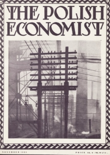 The Polish Economist : a monthly review of trade, industry and economics in Poland. 1931, nr11