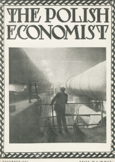 The Polish Economist : a monthly review of trade, industry and economics in Poland. 1931, nr12