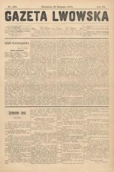 Gazeta Lwowska. 1908, nr193