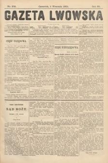 Gazeta Lwowska. 1908, nr202