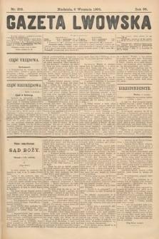 Gazeta Lwowska. 1908, nr205