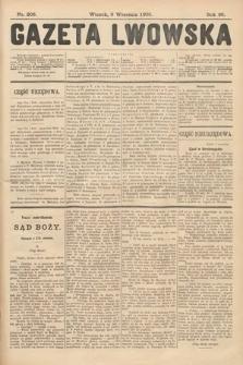 Gazeta Lwowska. 1908, nr206
