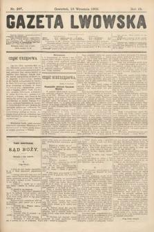 Gazeta Lwowska. 1908, nr207