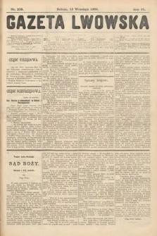 Gazeta Lwowska. 1908, nr209