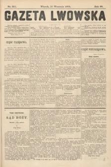 Gazeta Lwowska. 1908, nr211