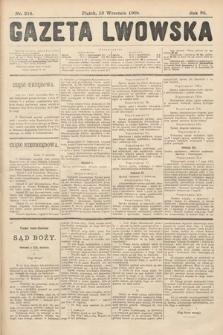Gazeta Lwowska. 1908, nr214