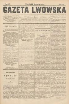 Gazeta Lwowska. 1908, nr217