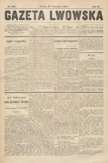 Gazeta Lwowska. 1908, nr221