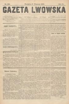 Gazeta Lwowska. 1908, nr222