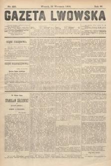 Gazeta Lwowska. 1908, nr223
